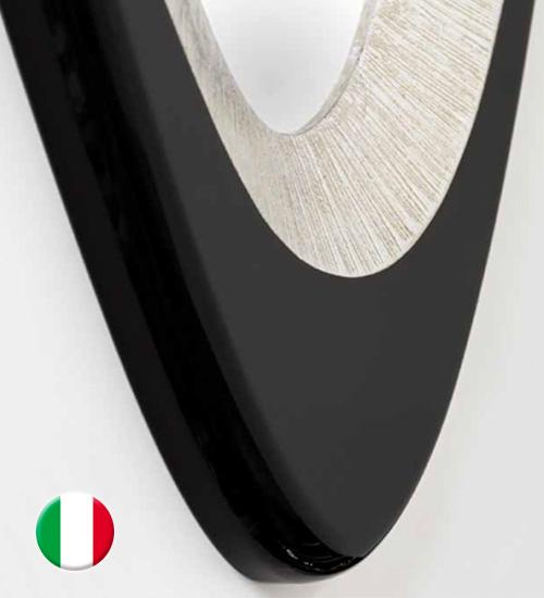 Espejo moderno gemma espejo original de dise o italiano - Recibidores de diseno italiano ...