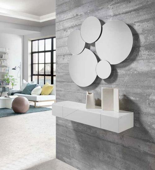 recibidores baratos Diseño Moderno ESPEJO CRISTAL TIKU NACHER