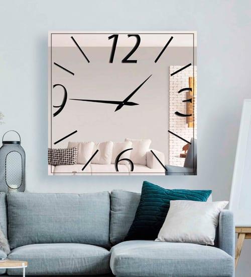 Espejo cuadrado noha espejo cuadrado o redondo de comedor for Espejos decorativos cuadrados