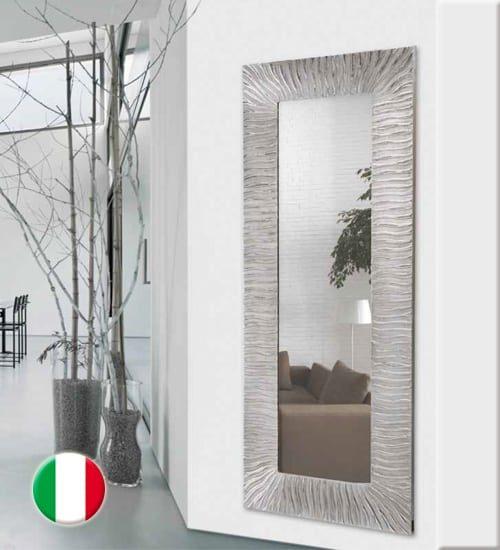 Espejos vestidores de pared ideales tanto para la for Espejo grande pared