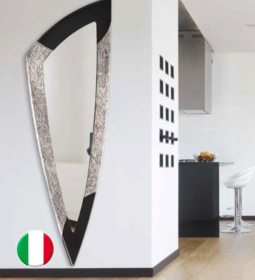 Espejo de pared de dise o spike espejo original de dise o italiano acabado con materiales de - Recibidores de diseno italiano ...