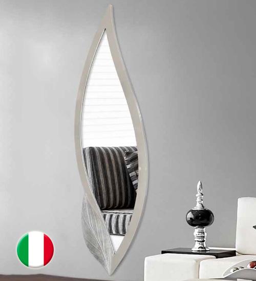 Espejo moderno de pared petalo espejo original de dise o italiano acabado con materiales de - Recibidores de diseno italiano ...