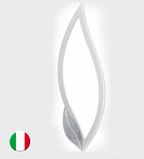 Espejo pintdecor petalo bianco espejo original de dise o - Espejos de diseno italiano ...