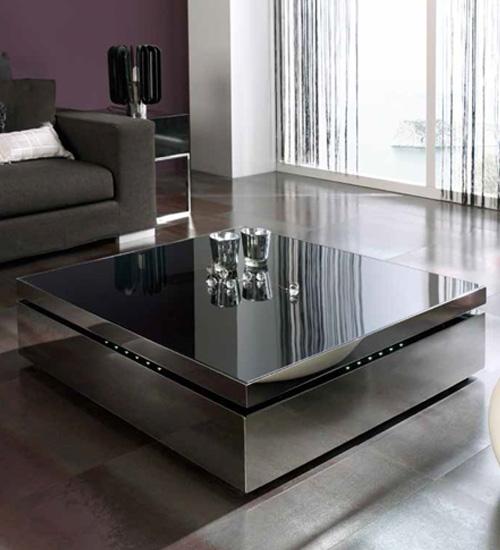 MESA CENTRO ELEVABLE RAFF, mesa ideal para delante del sofá, pieza ...