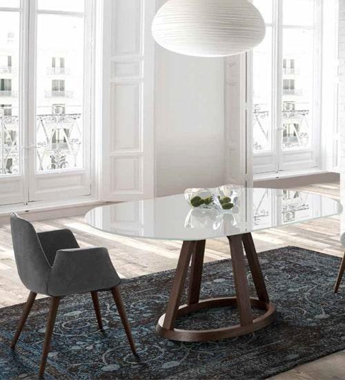 Mesa comedor alice mesa decorativo utilitaria nacher de for Mesa comedor diseno italiano