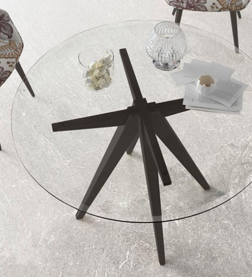 MESA REDONDA AUGUST, mesa de comedor perfecta para las reuniones de ...