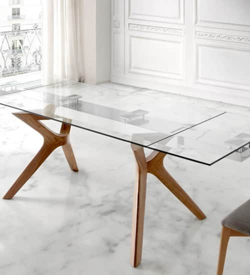 Mesa comedor lin nacher mesa de comedor perfecta para las - Imagenes de mesas de comedor ...
