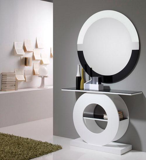 Espejo redondo atenea xivalpa espejo decorativo italiano for Espejo redondo recibidor