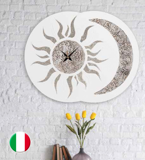 RELOJ DECORATIVO SOLE LUNA