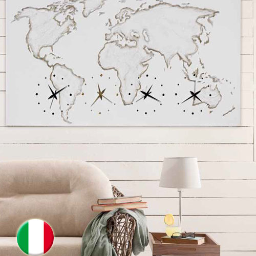 RELOJ DECORATIVO WORLD