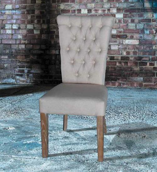 Silla capitone antica silla decorativa y utilitaria para for Sillas capitone modernas