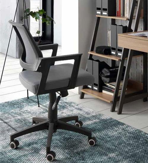 Butaca escritorio sincro butaca de despacho util y for Silla butaca comedor