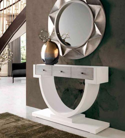 Consola moderna naxos perfecta consola para la decoraci n - Recibidores de diseno italiano ...