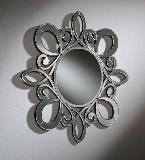 Dis arte espejo de pared rodano espejo decorativo de - Recibidores de diseno italiano ...