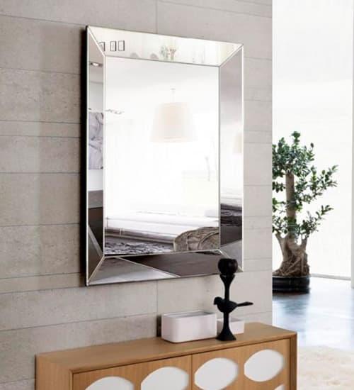 Espejo cristal romano espejo de medida media para for Espejos decorativos de pie