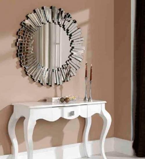 Espejo Cristal Solar Dugar Espejo Decorativo De Diseno Italiano