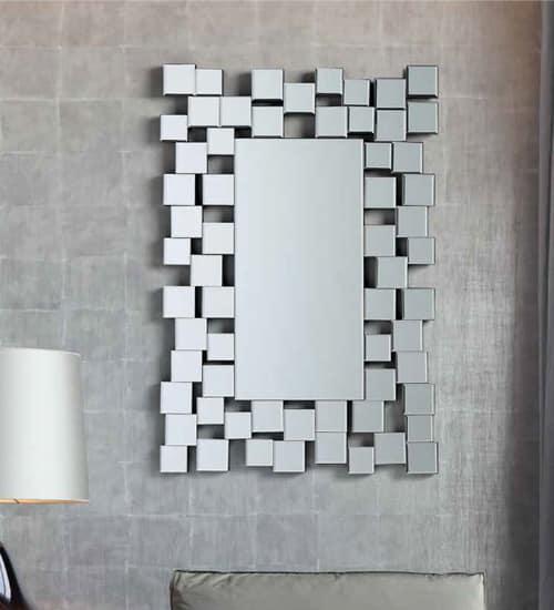 Espejo recibidor cristal espejo decorativo de dise o for Espejos decorativos economicos