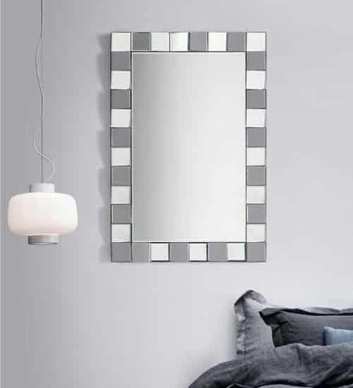 espejo recibidor silver espejo decorativo de dise o