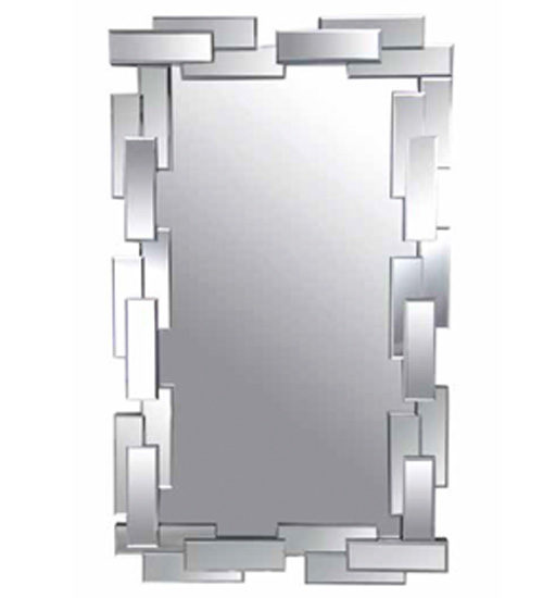 Espejo rectangular cristal archivos espejos de pared for Espejo rectangular pared