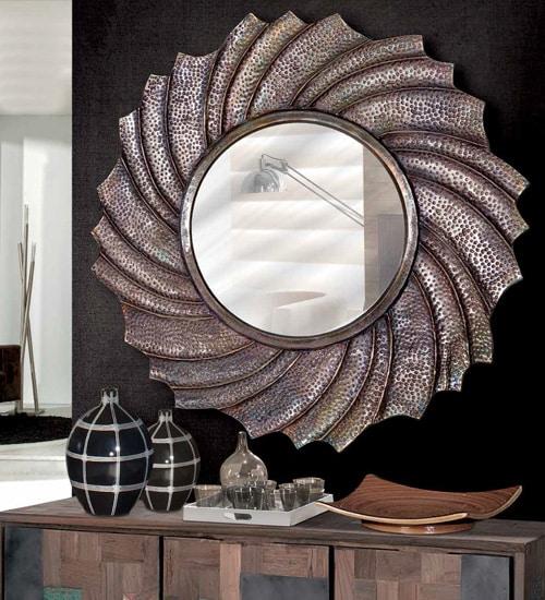 Espejo de pared sinus para decoraciones diferentes y - Espejos diseno italiano ...