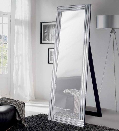 Espejo dormitorio line giner y colomer ideal para la for Espejos decorativos blancos
