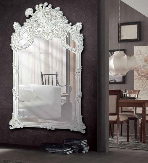 Espejo grande classic para decoraciones diferentes y for Espejo grande pared