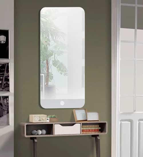 Espejo moderno pontiac espejo decorativo de dise o for Espejos de pared baratos online