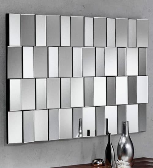 Espejo rectangular cristal mobimundo espejo decorativo de for Disenos de espejos decorativos