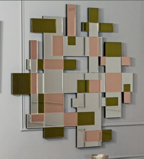 Espejo zen cuadrado mobimundo espejo decorativo de dise o for Espejos decorativos cuadrados