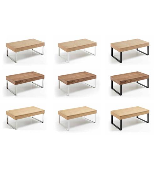MESA CENTRO ELEVABLE PLUS, mesa moderna para ambientes con estilo de ...