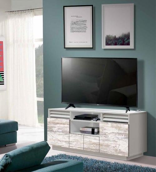 Mueble televisor misuri mueble auxiliar ideal para poner - Muebles para teles ...
