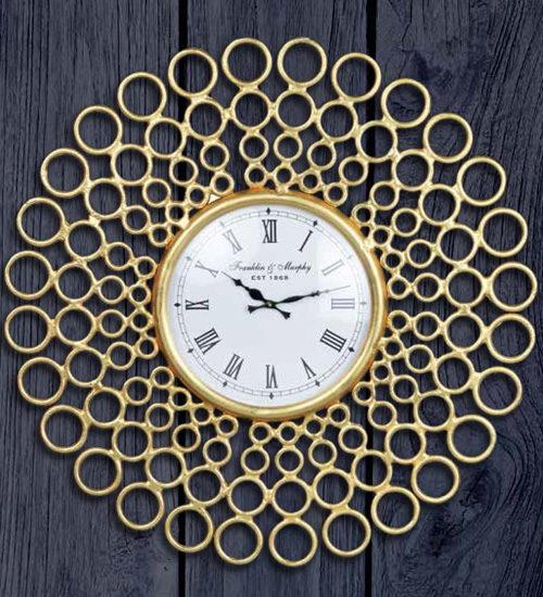 Reloj de pared kaine reloj redondo de comedor y recibidor - Relojes decorativos de pared ...