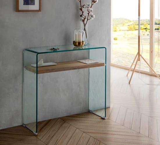 Consola de cristal ASTURIAS