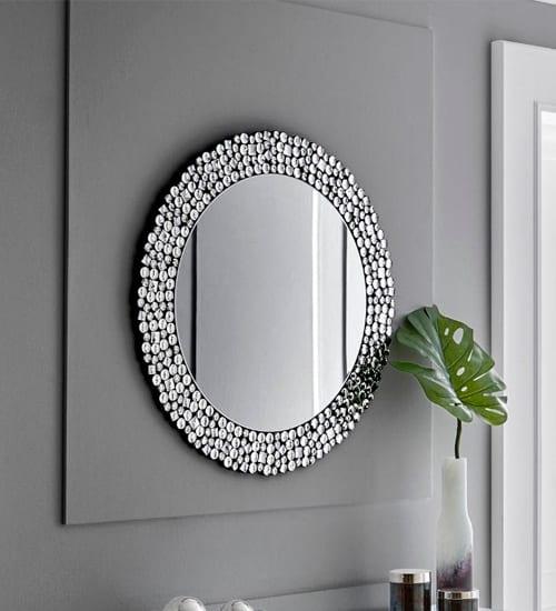 Espejo cristal balans espejo decorativo de dise o for Espejos redondos modernos
