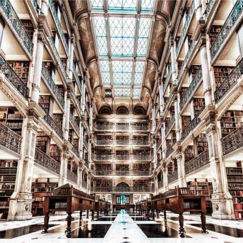 Fotografia Biblioteca