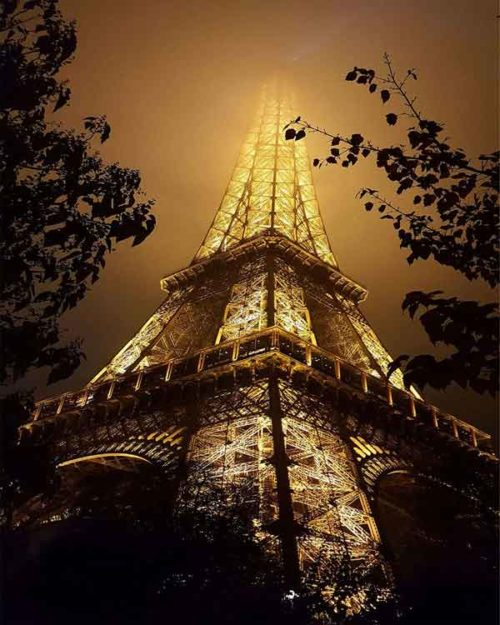 Fotografia lamina en cristal PARIS