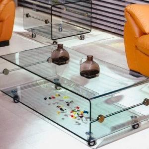 Mesa de Centro Melbourne Cristal