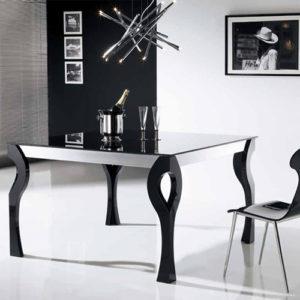 Mesas de comedor de madera XONA