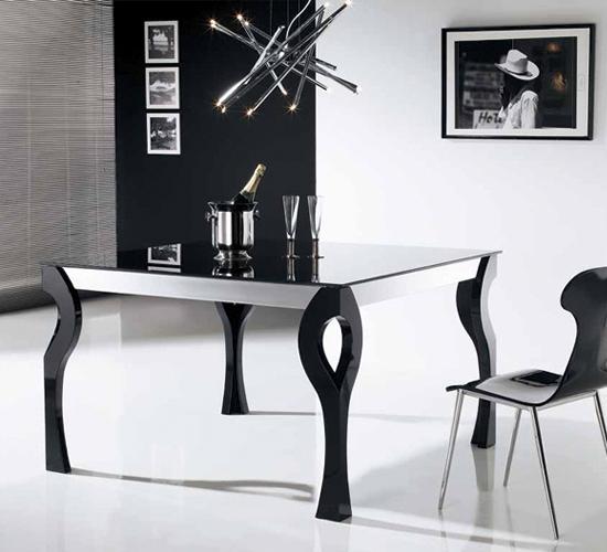 Mesas de comedor de madera XONA, mesa ideal para comedor moderno