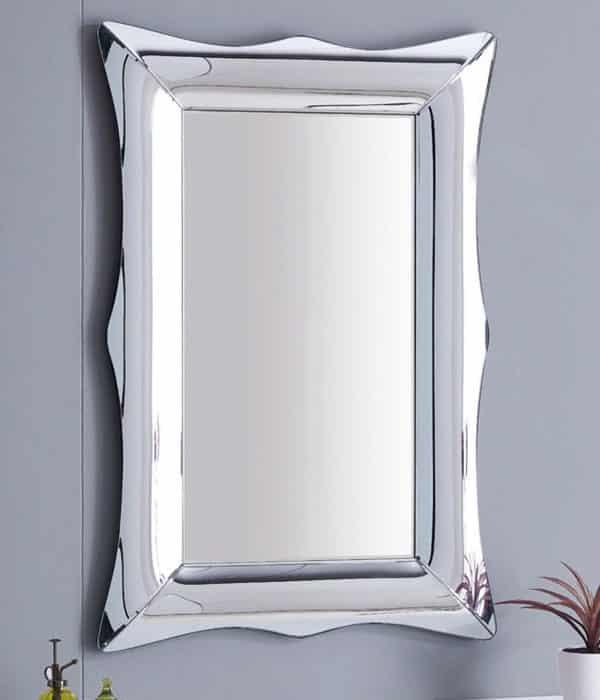 Tienda online espejos modernos hogar ESPEJO RECTANGULAR CURVO FIORI