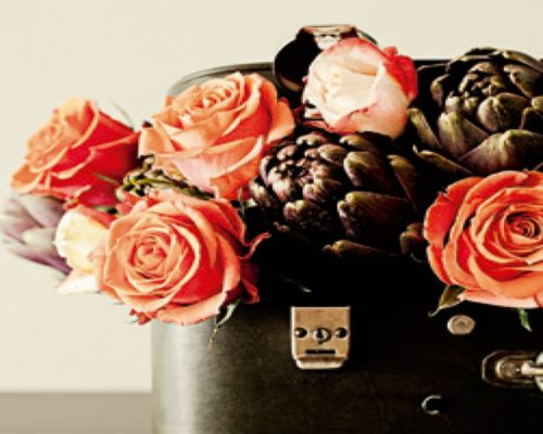 Cuadro Metacrilato Flores